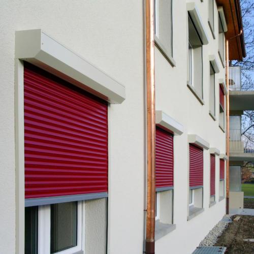 Vorbaurolläden Montfix | Storen Service Konzelmann AG