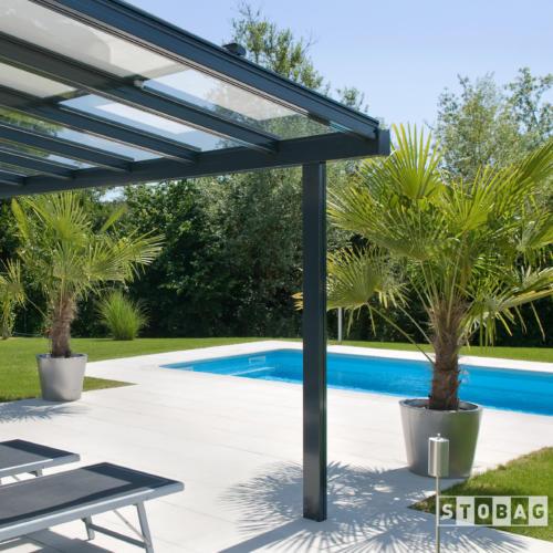 Sonnenstoren Glasdachsystem Terrado | Storen Service Konzelmann