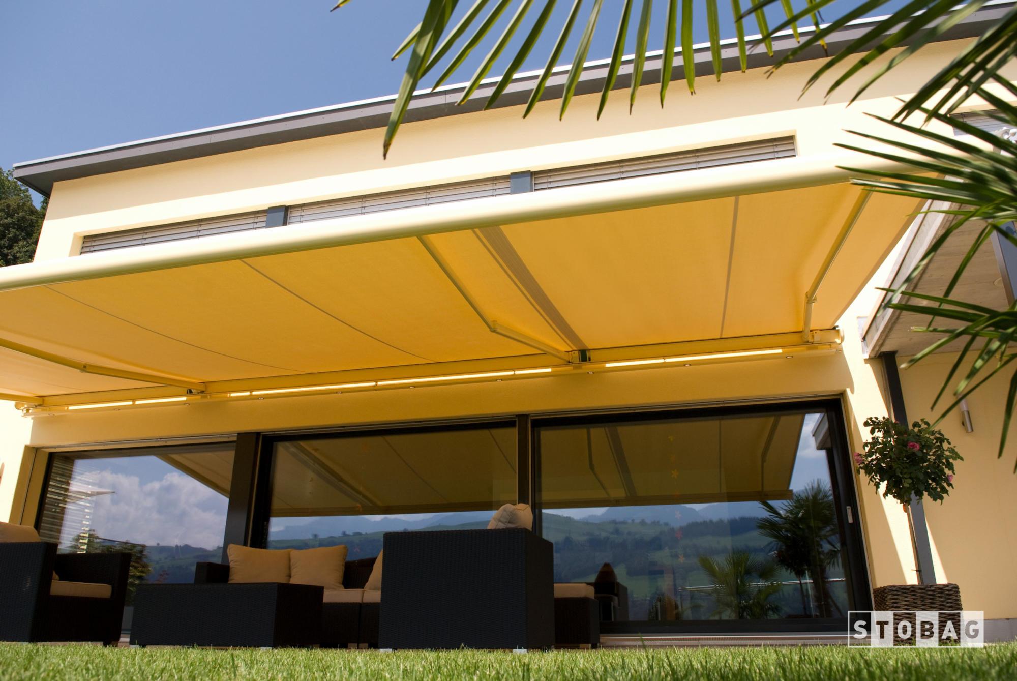 Sonnenstoren Kasettenmarkisen Resobox | Storen Service Konzelmann